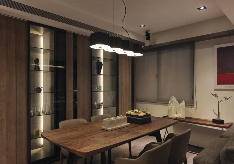 现代风格餐厅设计图片