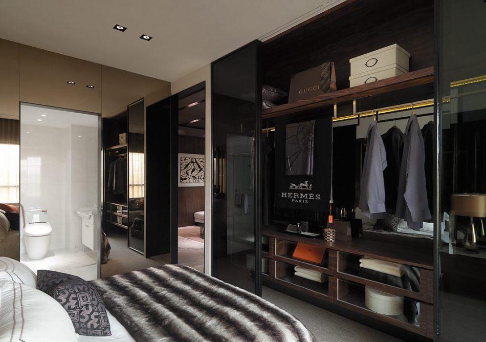 现代风格卧房机能设计图片