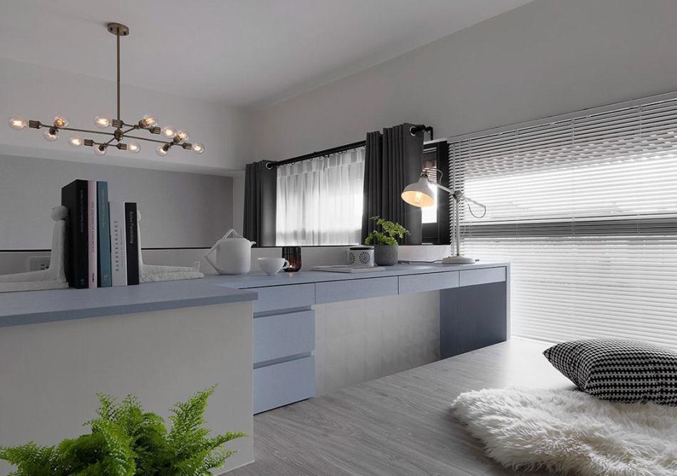 美式风格弹性一房装修效果图