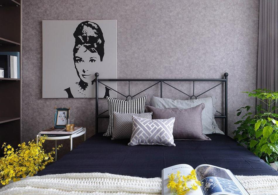 美式风格主卧室装修效果图