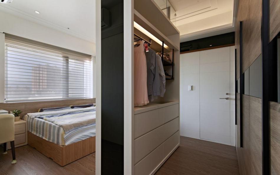 现代风格更衣室设计图片