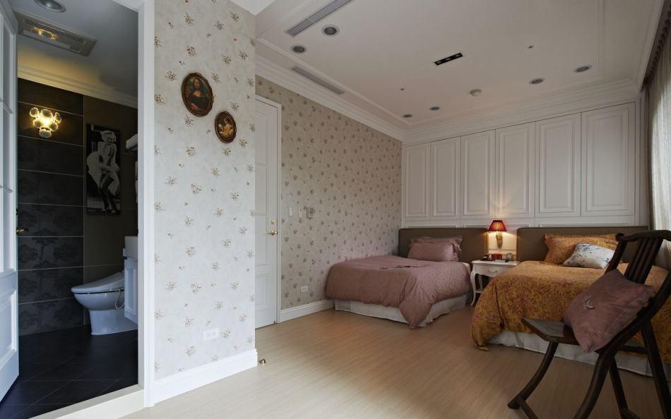 古典风格主卧房装修案例