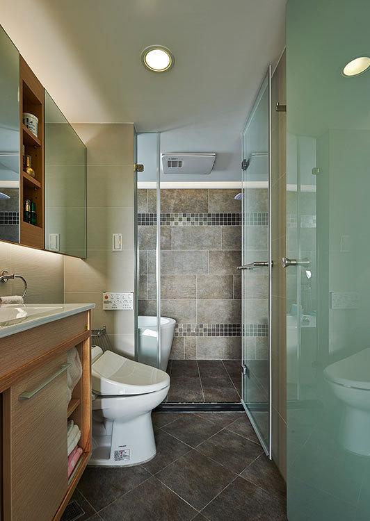 现代风格卫浴设计图片