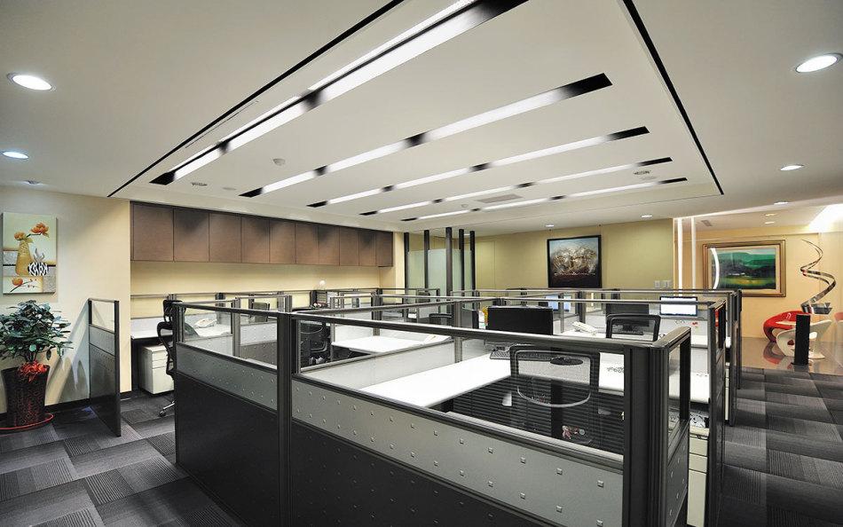现代风格天花板效果图