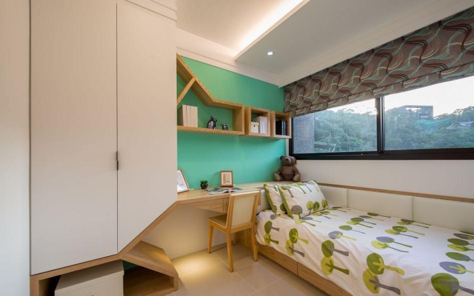 休闲多元次卧室1设计图片