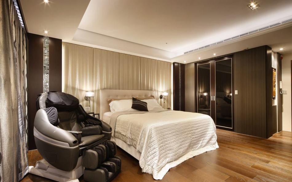 现代风格主卧室设计图片