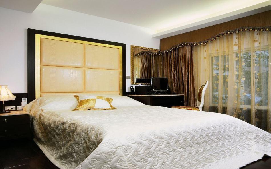 奢华风格次卧室之一效果图