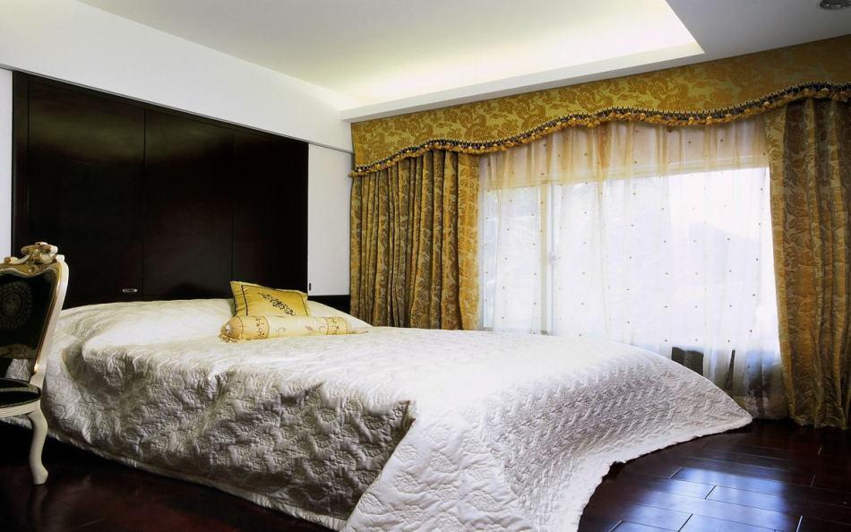 奢华风格次卧室之二效果图