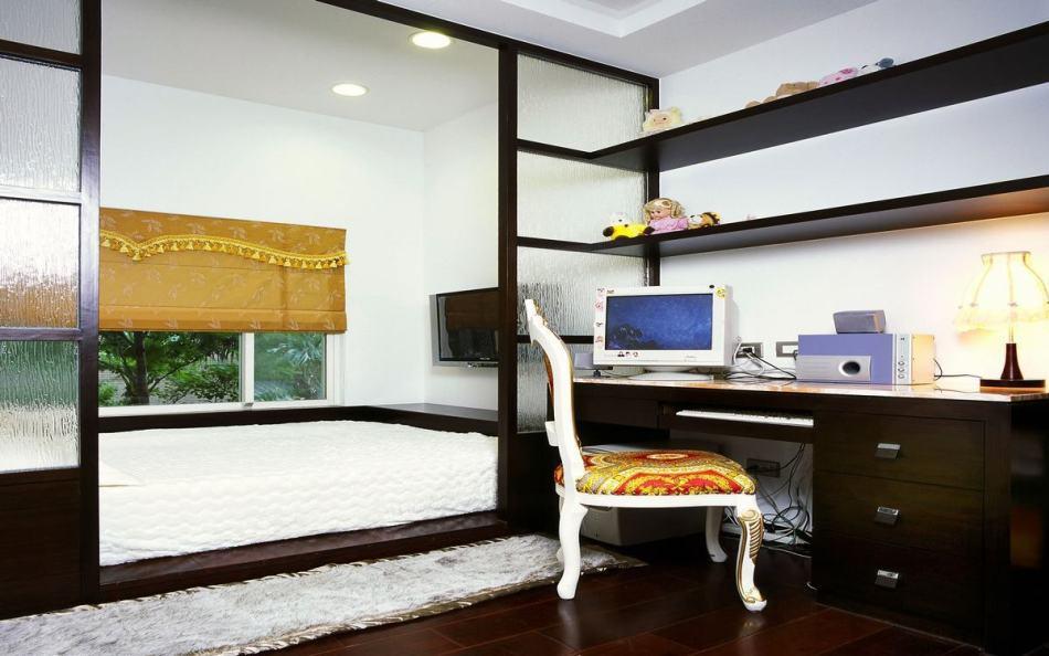 奢华风格次卧室之三效果图