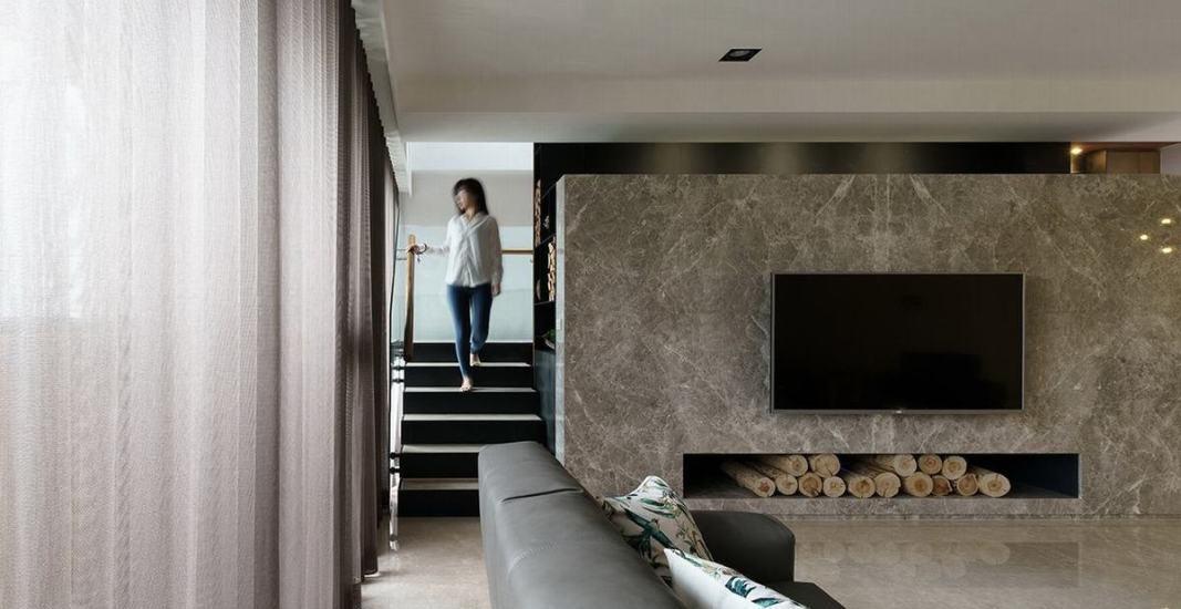 现代风格电视主墙图片