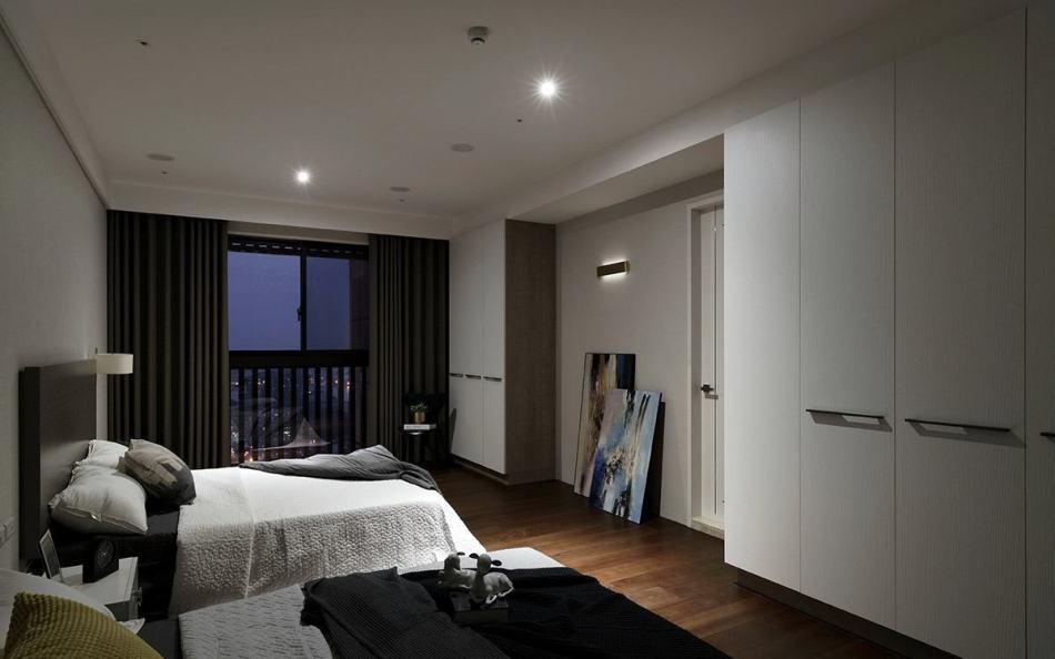 现代风格客房图片