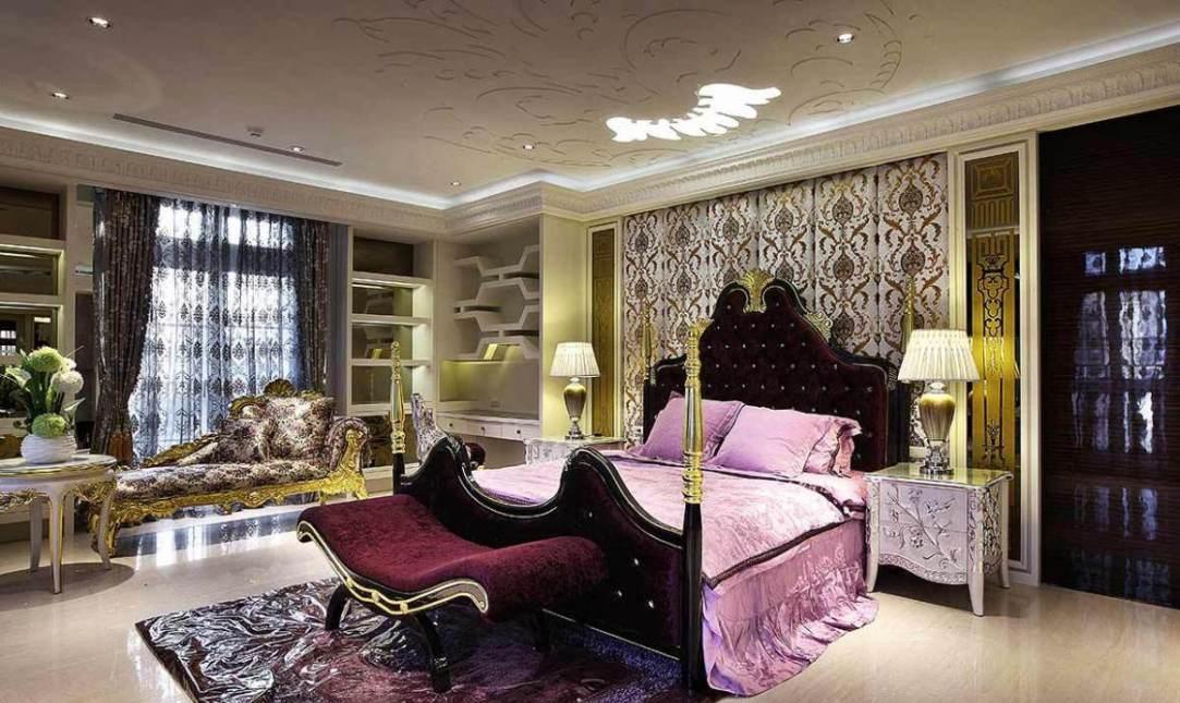 奢华风格主卧房装修案例