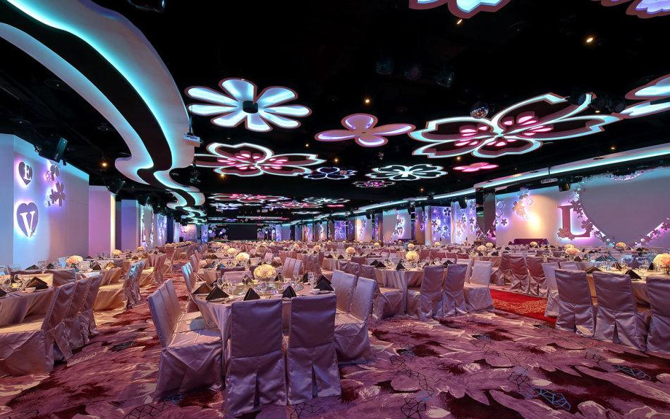 现代古典宴会厅装修图片