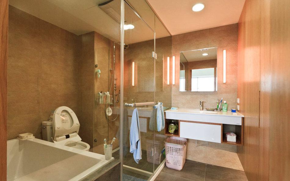 休闲多元主卧卫浴设计图片