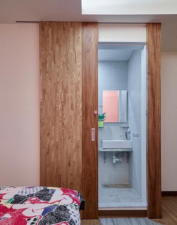乡村风格女儿房卫浴设计图片