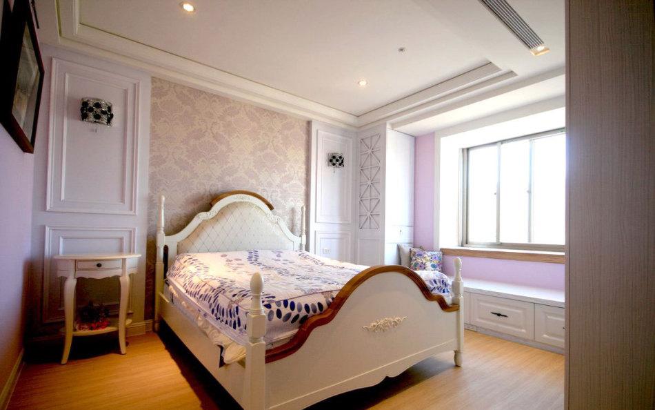 美式风格主卧房装修案例
