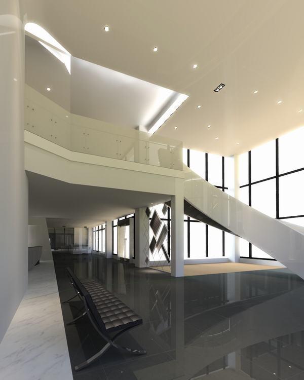 现代风格大厅图片