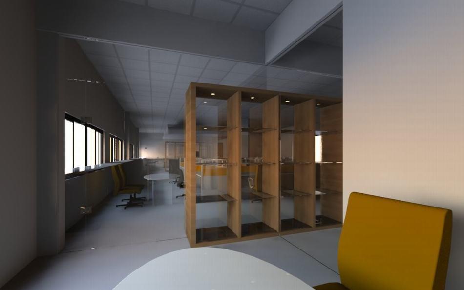 现代风格1F会议室图片