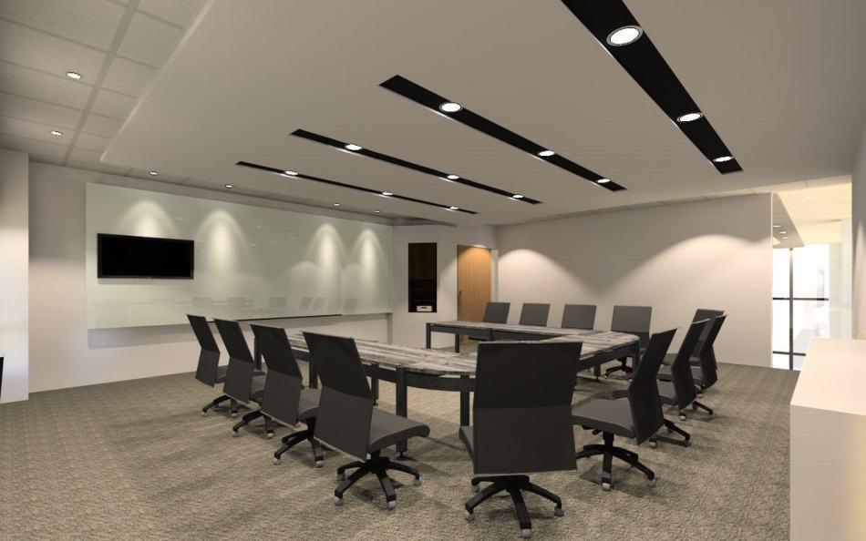 现代风格大会议室图片