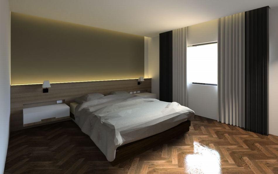 现代风格客房睡眠区图片