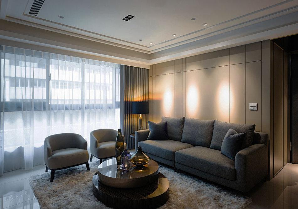 现代风格居宅面貌设计效果图
