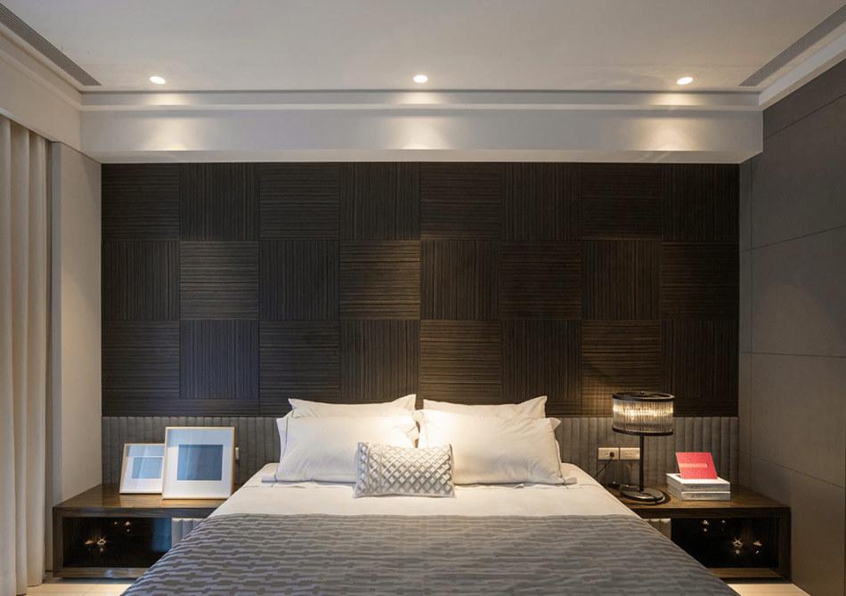 现代风格床头设计设计效果图