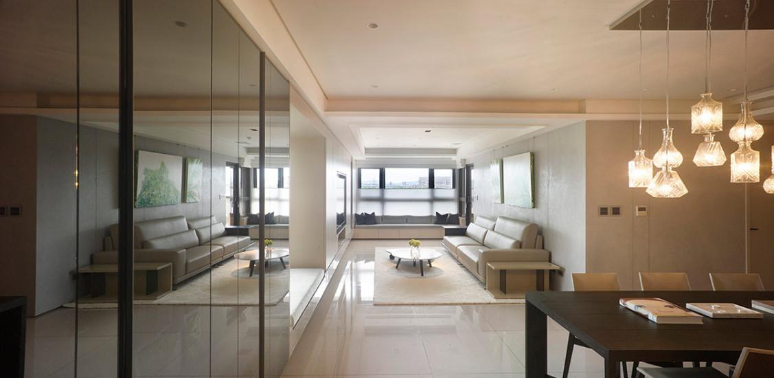 现代风格居宅面貌效果图