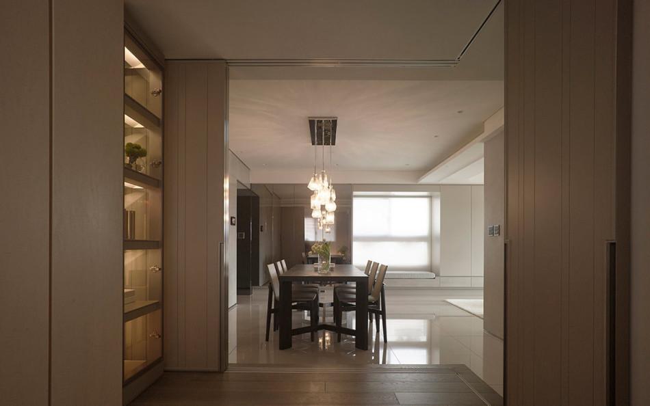 现代风格多功能和室效果图