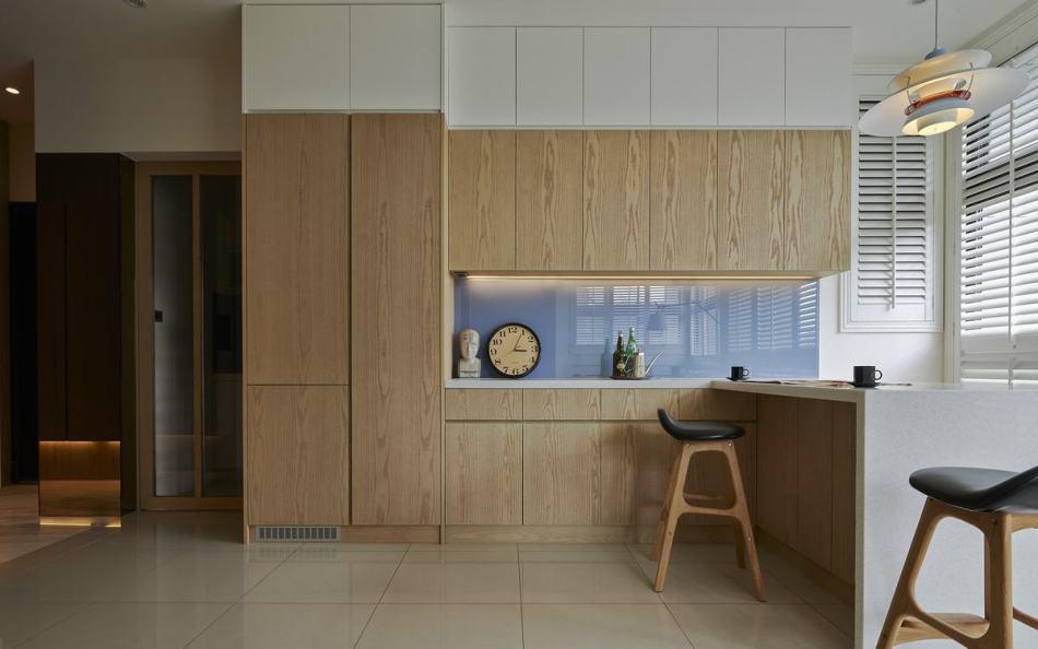 休闲多元沿墙柜面设计图片
