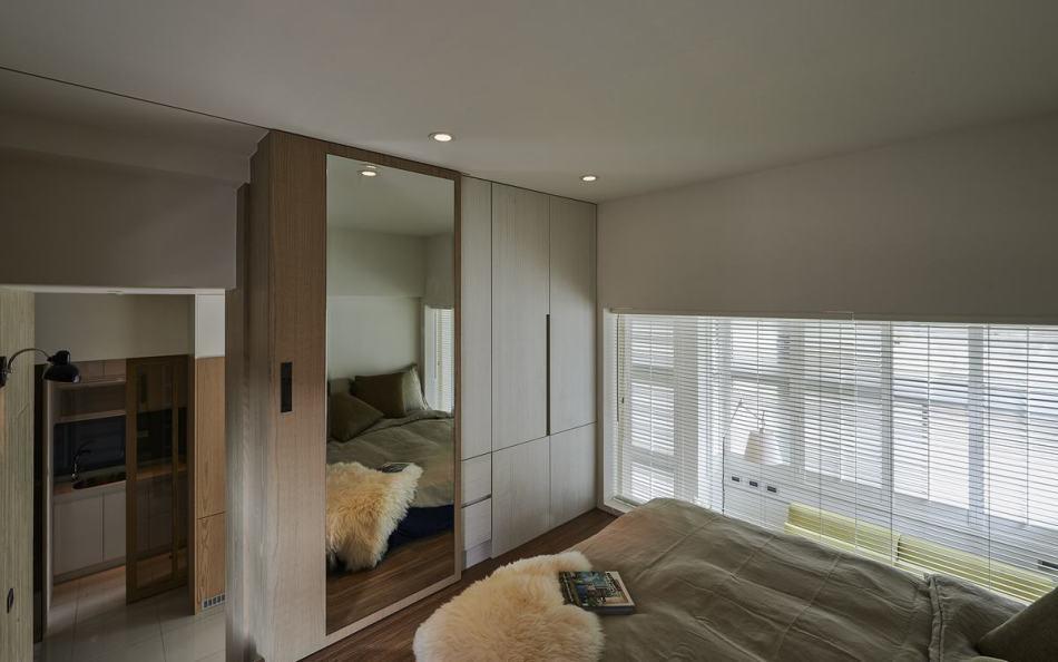 休闲多元上方卧室设计图片