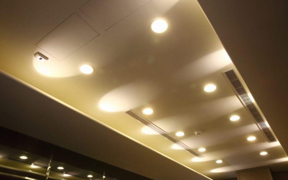 现代风格灯光配置装修图片