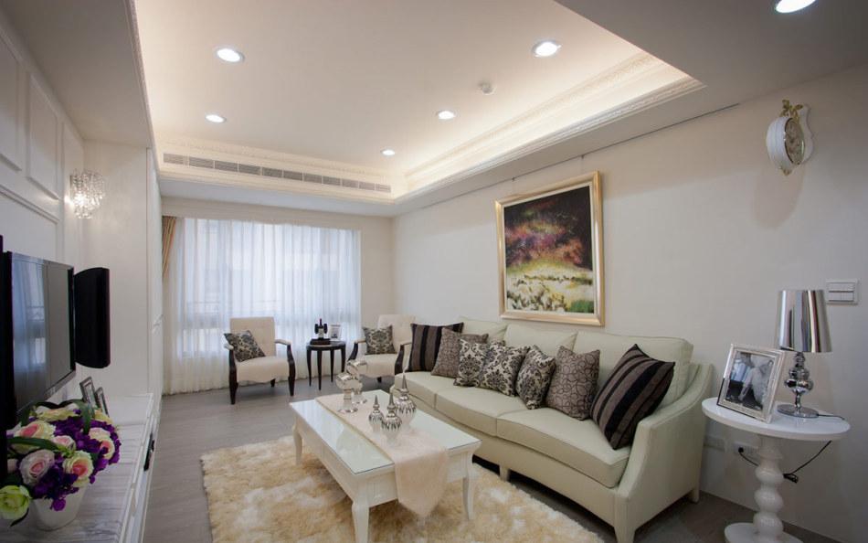 新古典客厅装修案例
