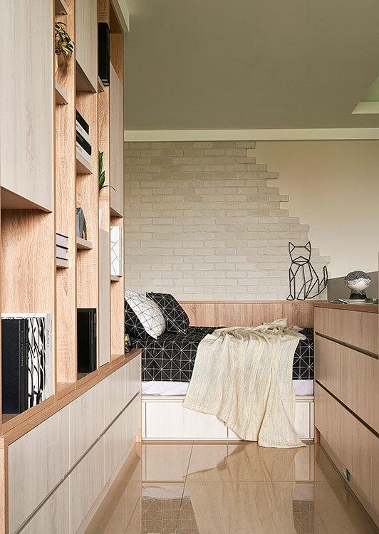 北欧风格睡眠区装修案例