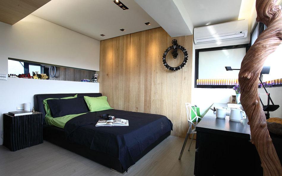 现代风格主墙元素设计图片