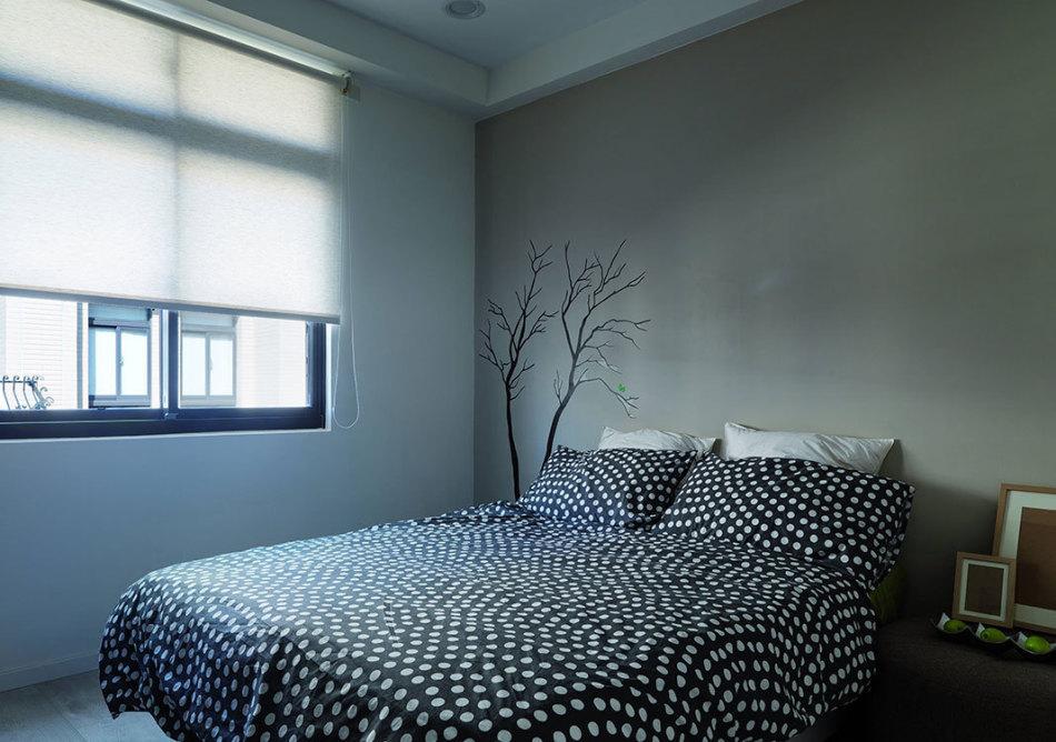 混搭风次卧房装修案例