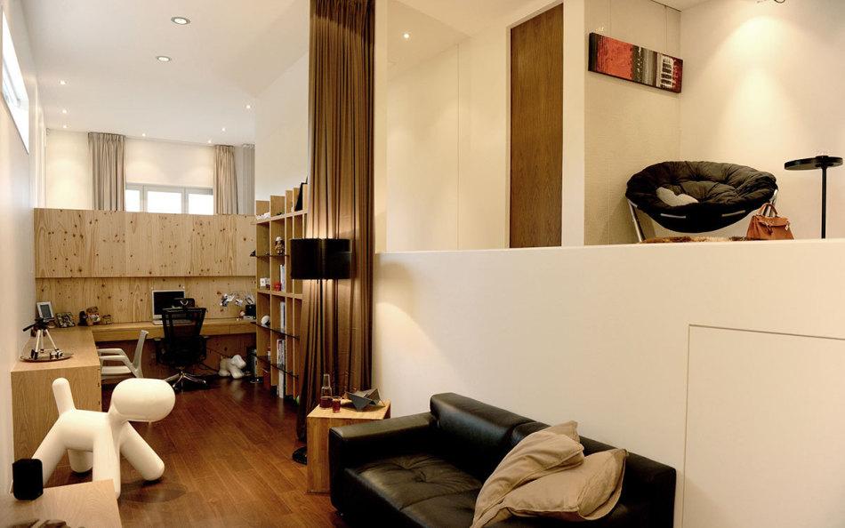 休闲多元沙发休憩区及书房图片
