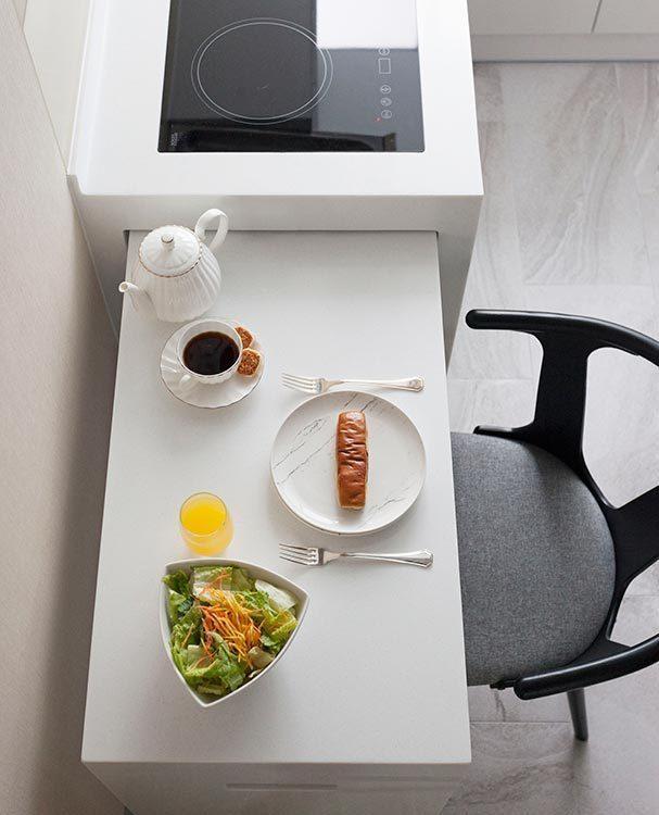 休闲多元多功能餐桌图