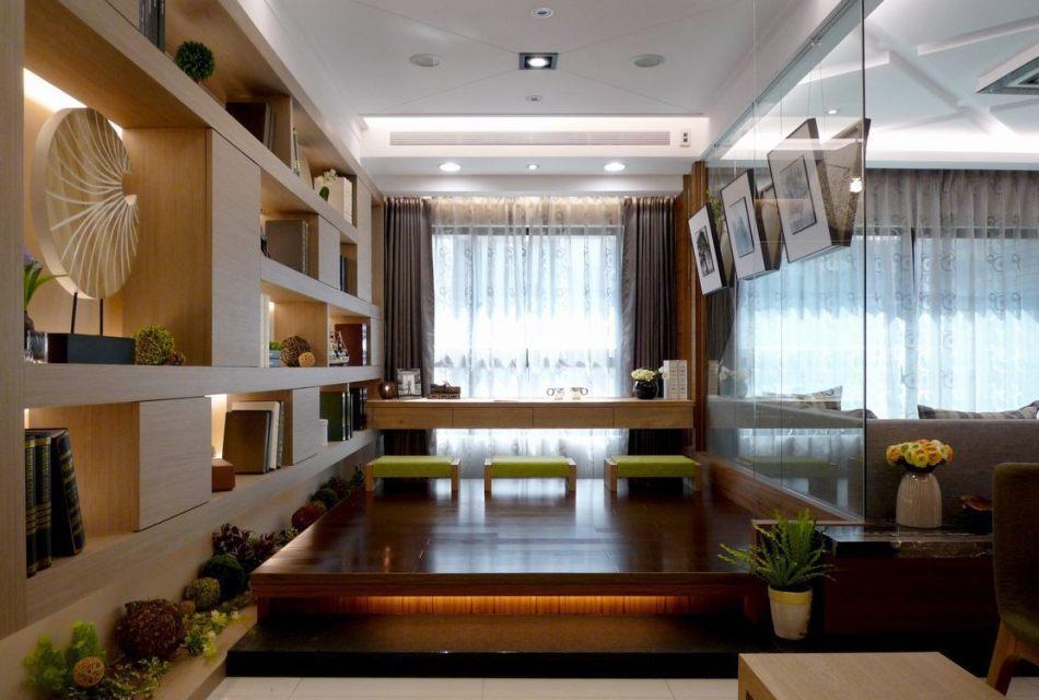 现代风格和室空间效果图
