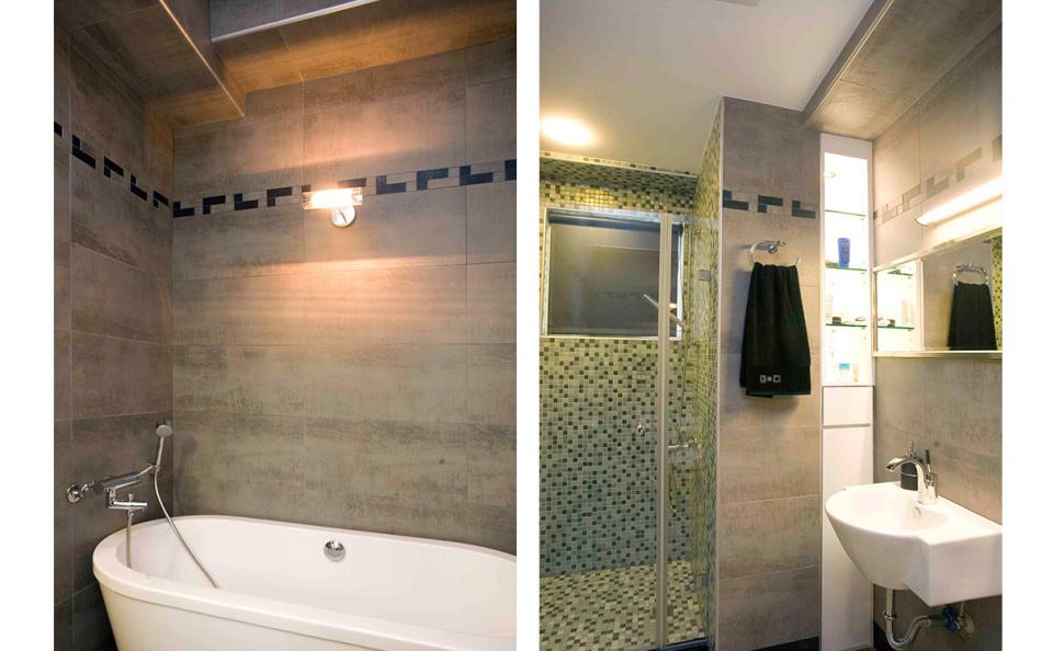 现代风格主卧卫浴装修效果图