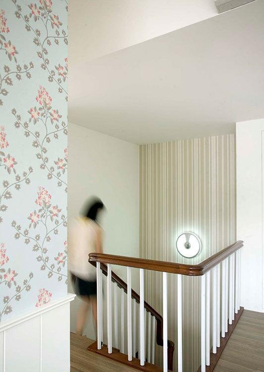乡村风格楼梯间设计效果图