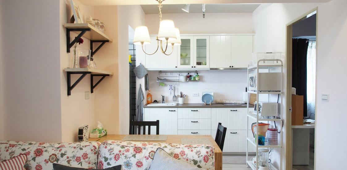 乡村风格餐厨空间欣赏图