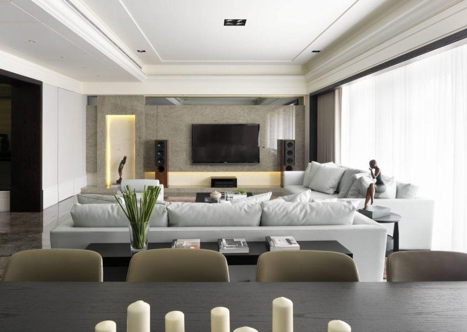 古典风格电视主墙图片