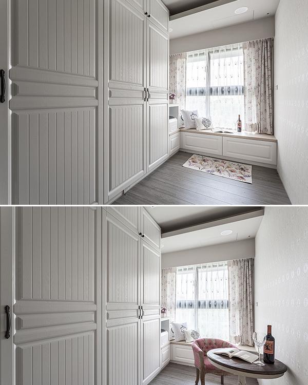 乡村风格更衣室装修案例