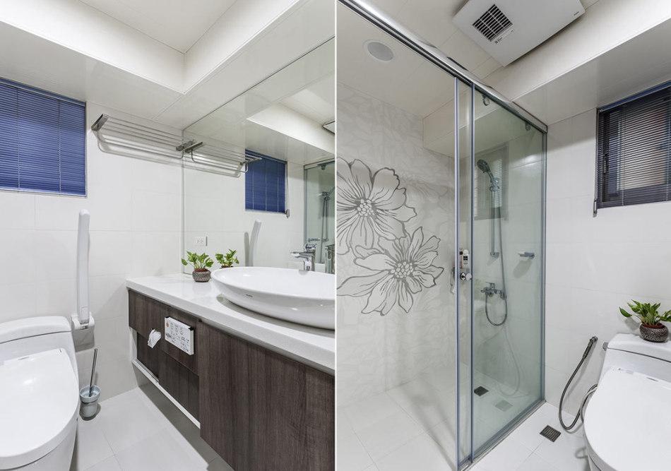 休闲多元客用卫浴设计效果图