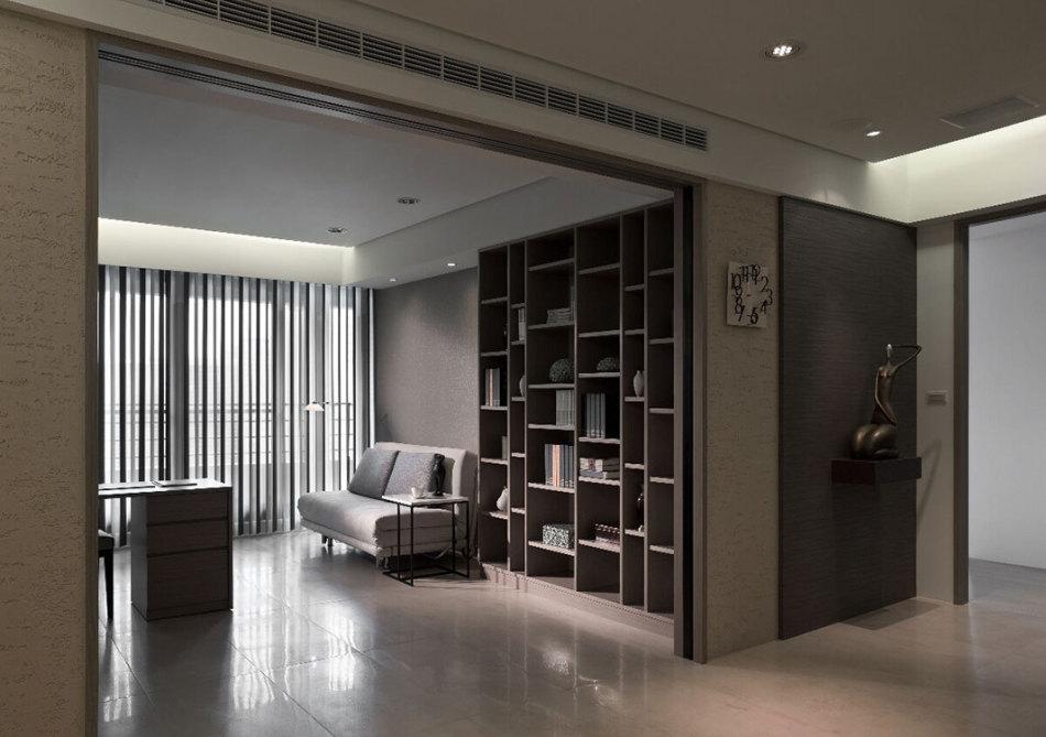 现代风格书房装修案例