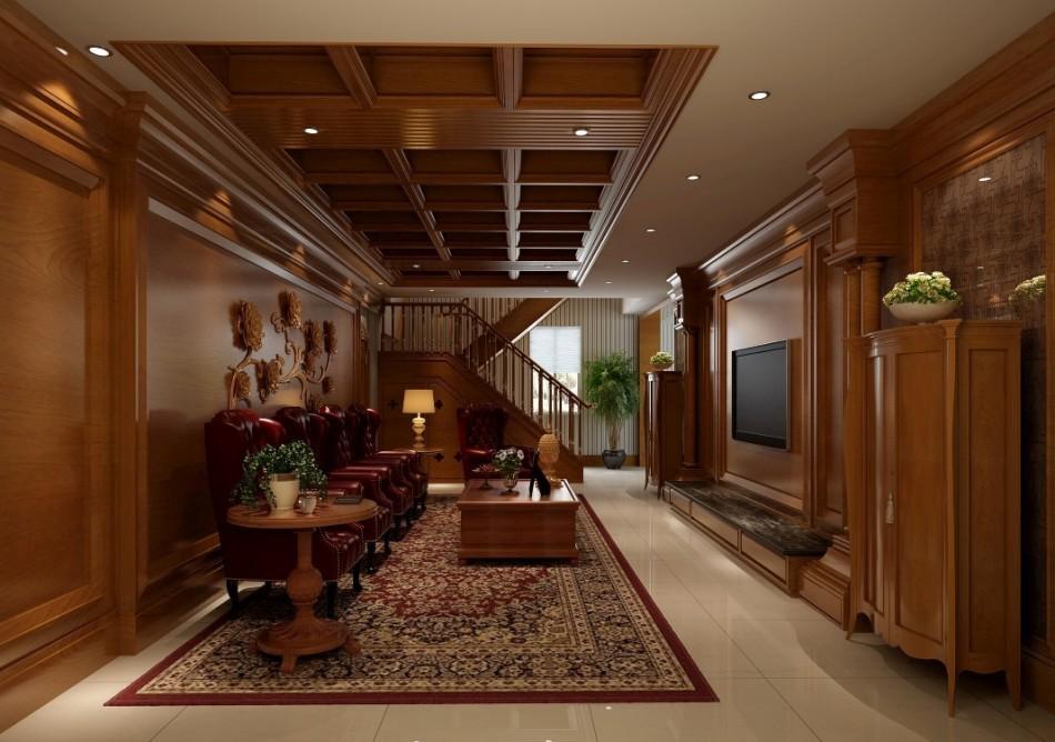 古典风格2F起居室图片