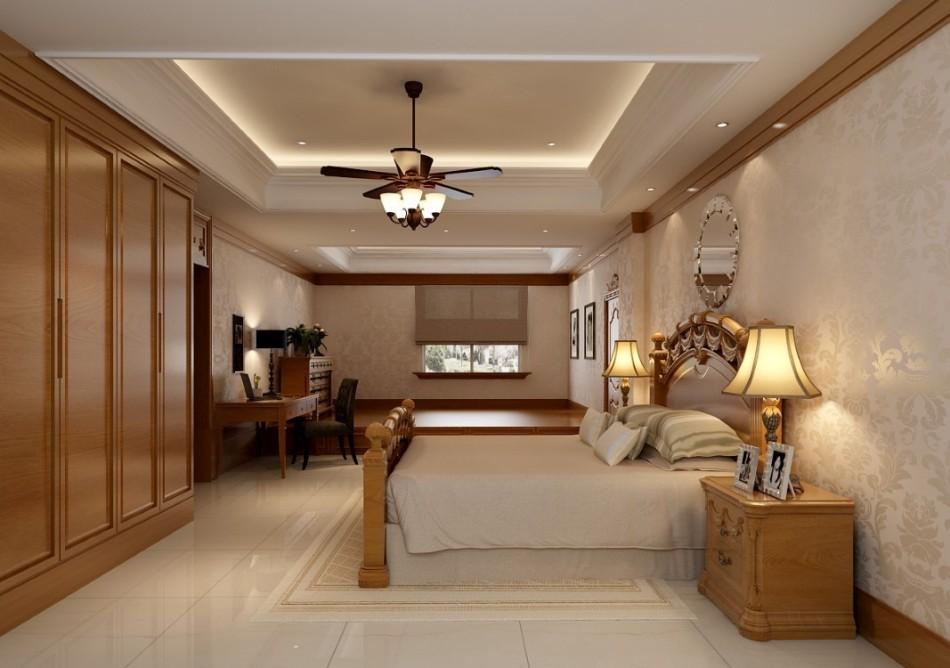 古典风格主卧室图片