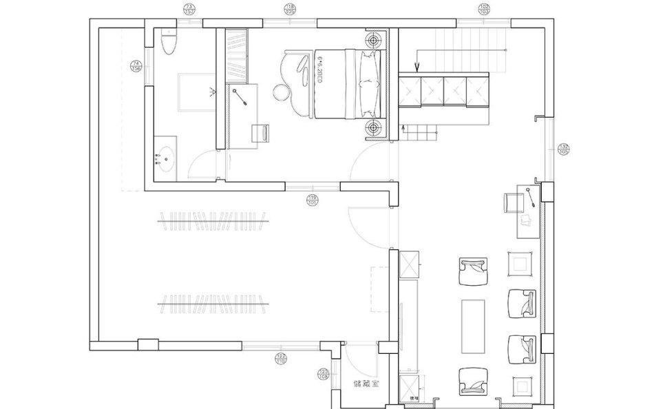 古典风格3F平面配置图图片