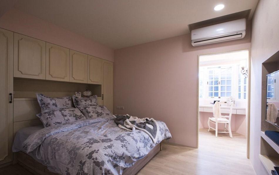 法式乡村风主卧室装修效果图