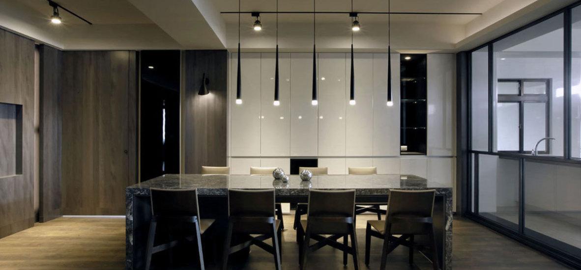 现代风格餐厅空间装修图片